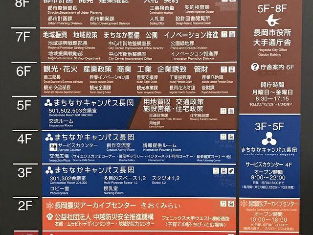 ビルの2階です_長岡震災アーカイブセンター きおくみらい