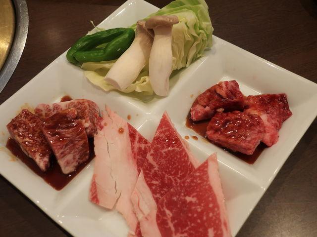 和牛ランチ_焼肉 ダルマ 浜店