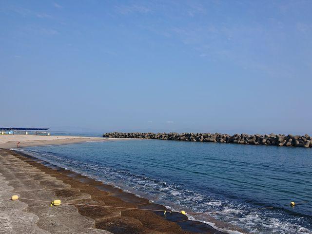 波消しブロックがあり穏やか_皆生温泉海遊ビーチ(旧皆生温泉海水浴場)
