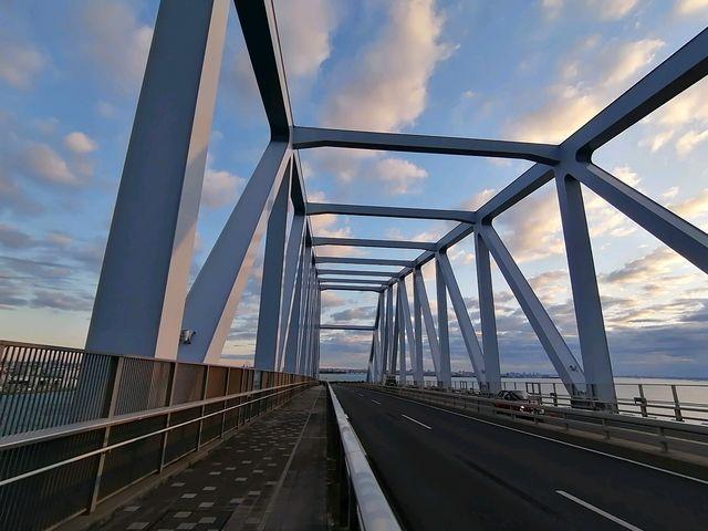 初日の出の東京ゲートブリッジは朝6時から歩けます_東京ゲートブリッジ