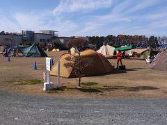 場 渚 園 キャンプ