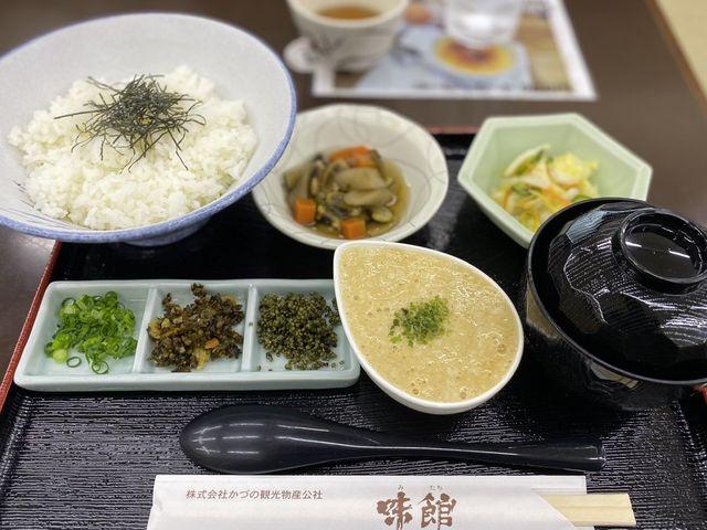 とろろ丼_道の駅 かづのあんとらあレストラン味館
