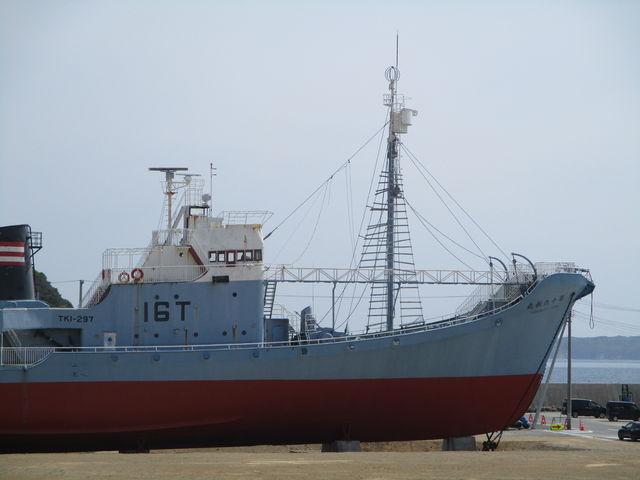 捕鯨船_おしかホエールランド