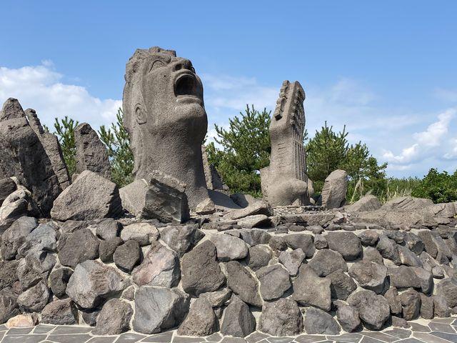 桜島に行ったら立ち寄って欲しいスポットです。_叫びの肖像