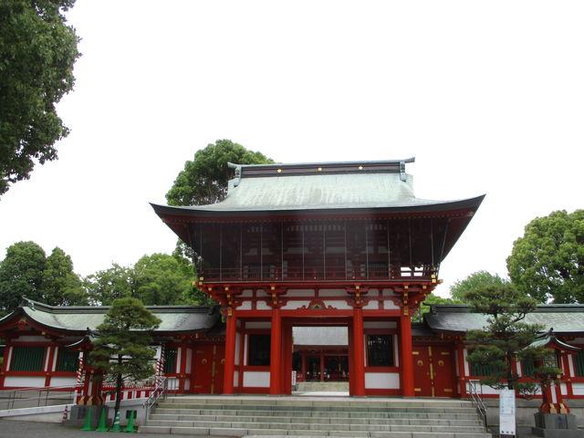 立派な社殿_藤崎八旛宮