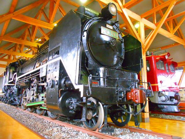 本物のD51と交流電気機関車ED70-1号機を間近で楽しめます_長浜鉄道スクエア