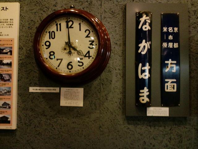 懐かしい鉄道グッズの数々を展示_長浜鉄道スクエア