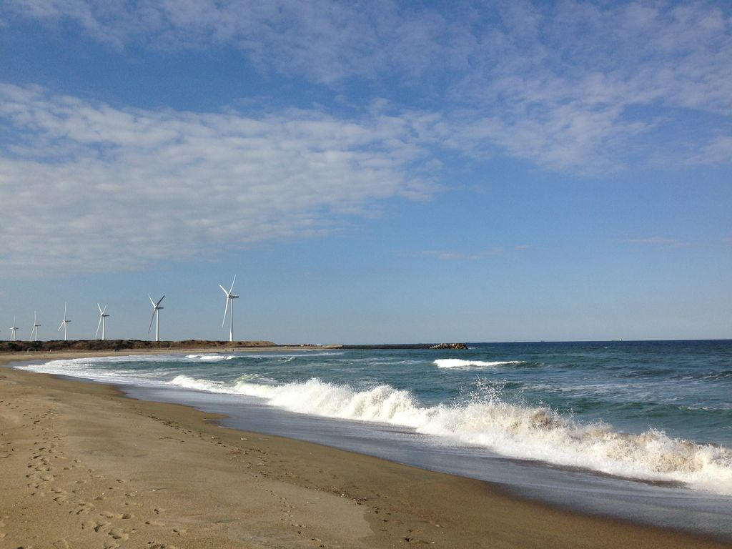 日川浜海水浴場