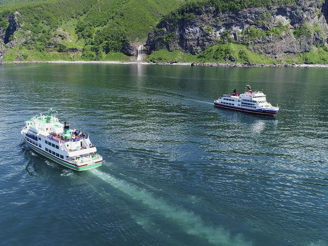 知床観光船おーろらとカムイワッカの滝_知床観光船おーろら