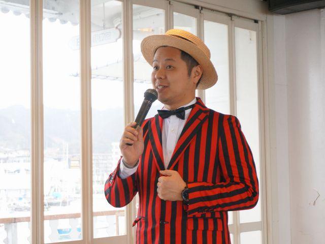 ミシガンパーサーによる観光案内は3Fで開催♪_ミシガンクルーズ(琵琶湖汽船)