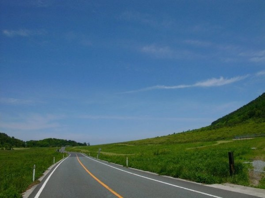 三瓶山麓コース