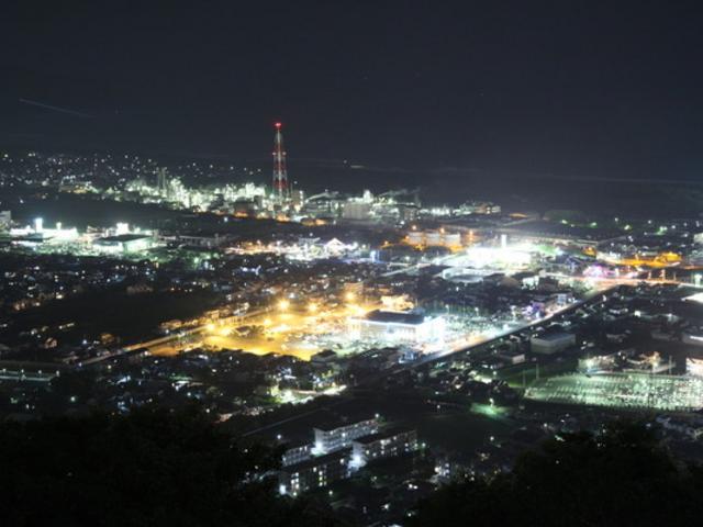 愛宕山展望台