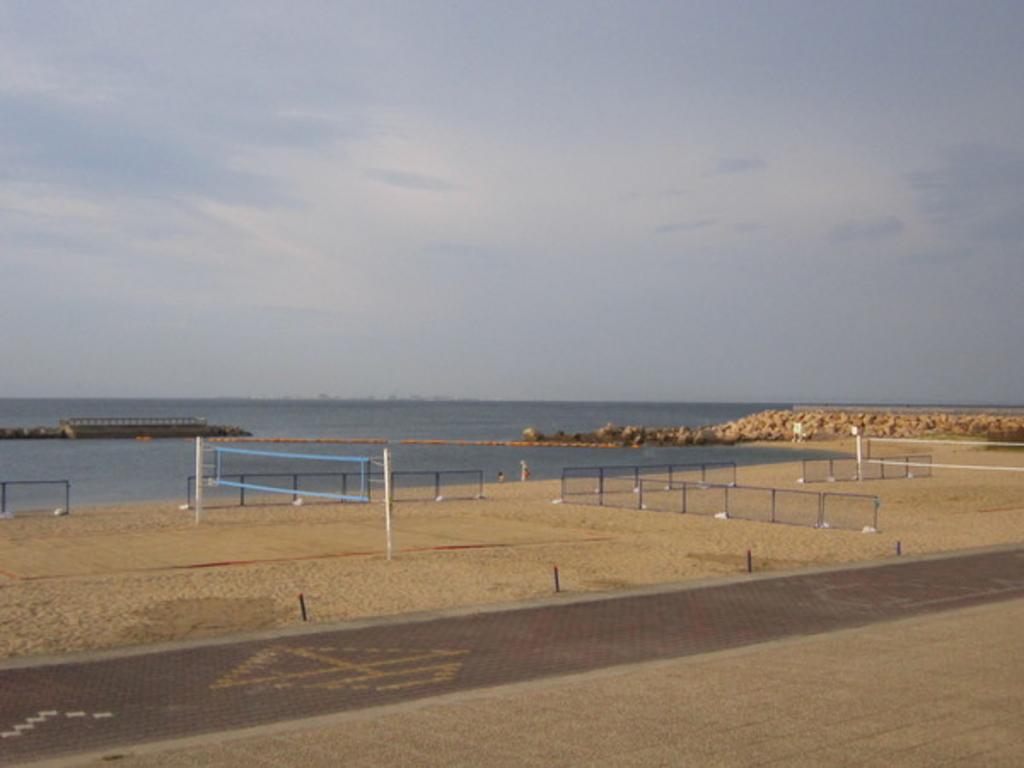 ときめきビーチ(淡輪海水浴場)