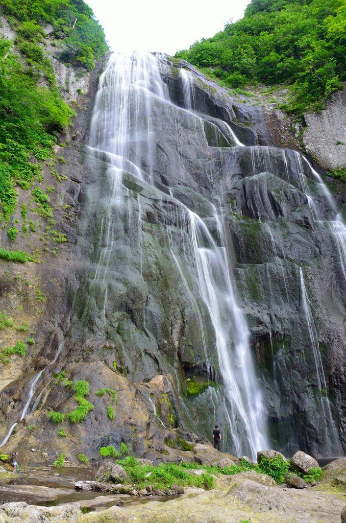 中ノ又渓谷・安の滝