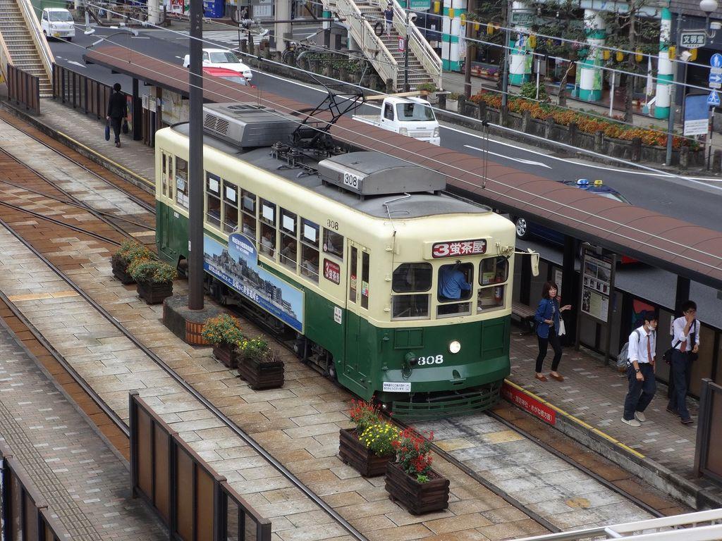 長崎電気軌道(長崎の路面電車)