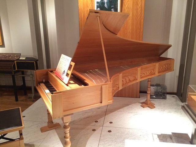 クリストフォリ・ピアノ_浜松市楽器博物館