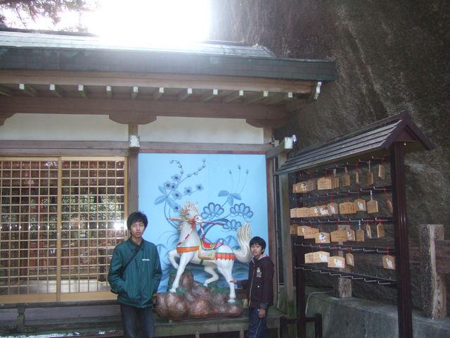 磐船神社の拝殿。_磐船神社