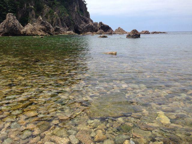 魚いっぱい_笹川海水浴場