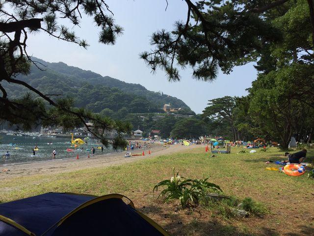 涼しげでしょ_御浜海水浴場