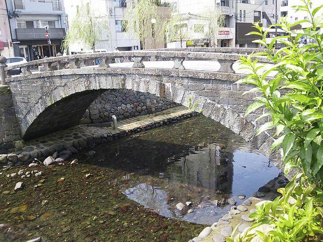 袋橋_中島川の石橋群