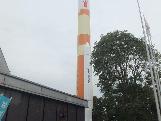 スペースシャトルが目印。_つくばエキスポセンター