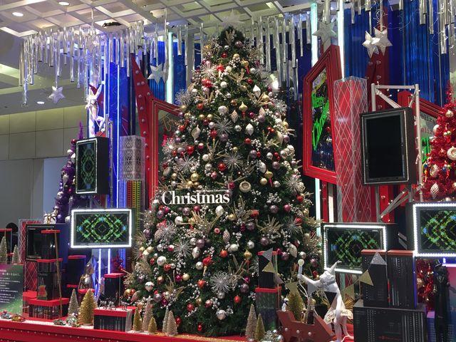 2016クリスマスツリー_ジェイアール名古屋タカシマヤ