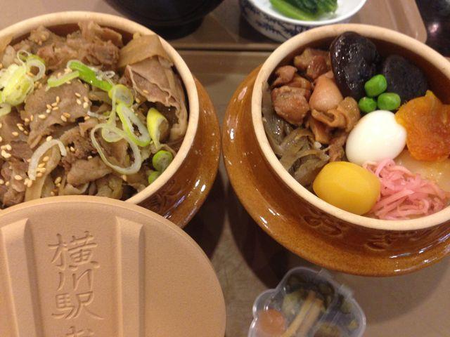 峠の釜めしも峠の牛丼も美味しかったです。_おぎのやドライブイン横川本店