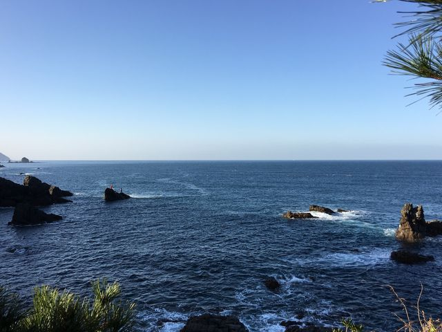展望所からの景色②_鬼海ケ浦展望所
