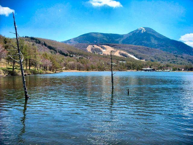 神秘的な雰囲気を持つ女神湖_女神湖