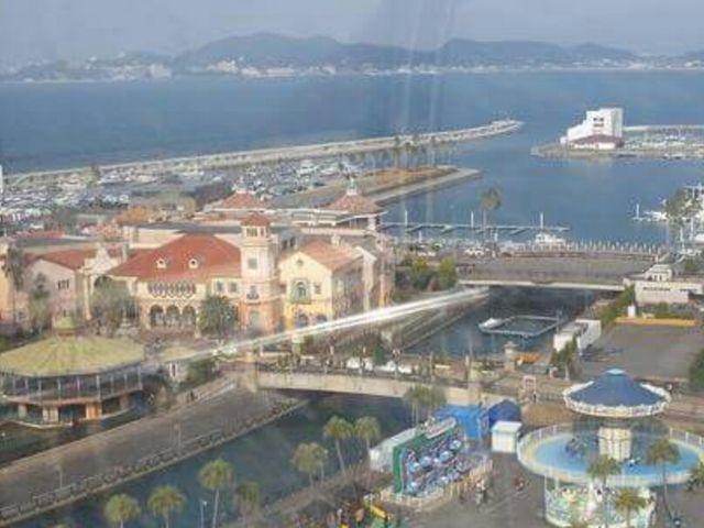 観覧車からの景色_和歌山マリーナシティ