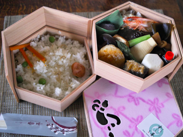 すし善のお弁当です。_すし善 円山店