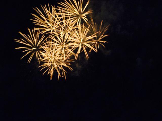 この、シンプルな花火が好きです_モエレ沼公園