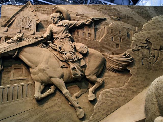 西部開拓時代_鳥取砂丘 砂の美術館