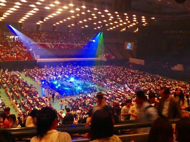大阪城ホール(コンサート終了後)_大阪城ホール