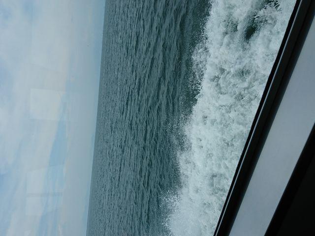 船から撮影しました!_琵琶湖