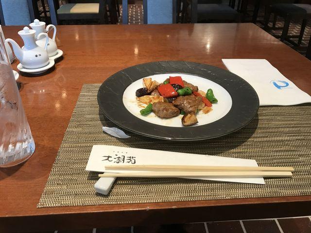 牛肉の炒め物_大湖苑