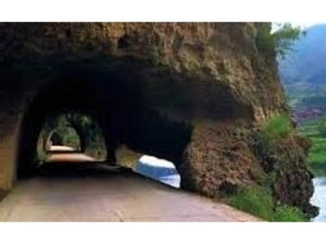 青の洞門青の洞門