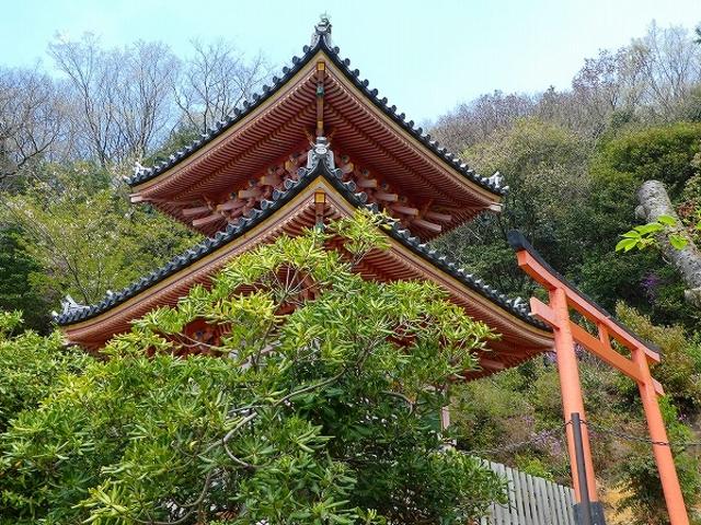 兵庫県・神呪寺・多宝塔_神呪寺(甲山大師)