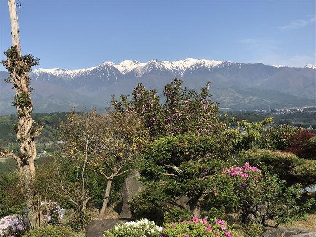 絶景の景色!_陣馬形山