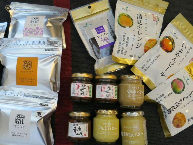 オリジナル商品と丸山珈琲_ツルヤ