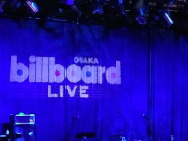 いぃ雰囲気。_Billboard Live OSAKA(ビルボードライブ大阪)