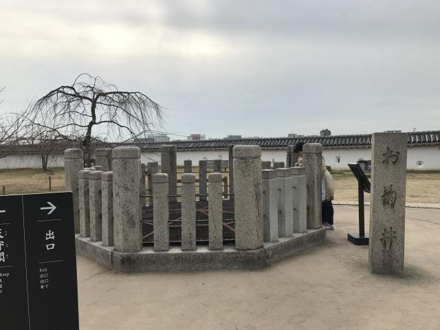 井戸全体図_姫路城お菊井戸