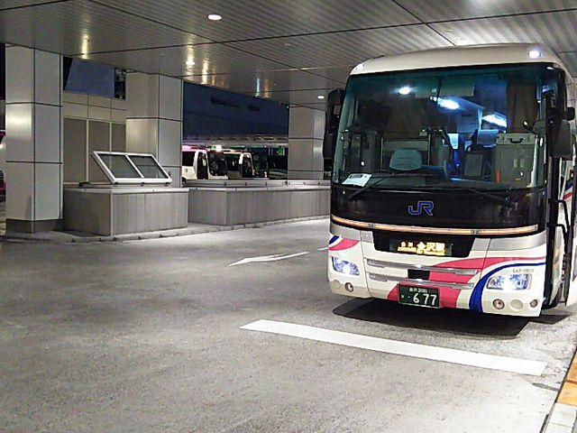 バスターミナルの様子_バスタ新宿