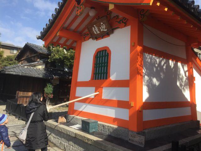 綱を引くと鐘が鳴ります。_六道珍皇寺