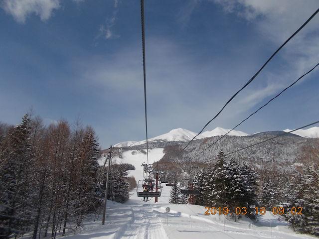 朝一番のリフトは快適_Mt.乗鞍スノーリゾート