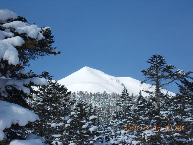 ゲレンデトップからちょっと登るとこんな素晴らしい景色_Mt.乗鞍スノーリゾート