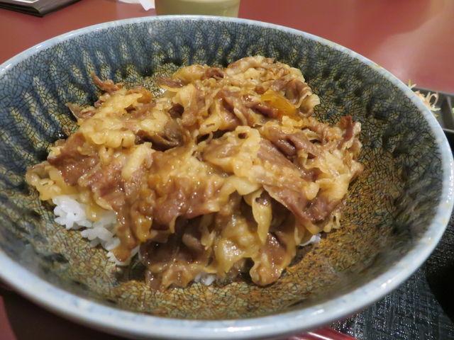 熊野牛の牛丼_アドベンチャーレストラン