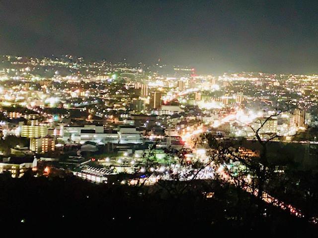 夜景_城山公園展望台