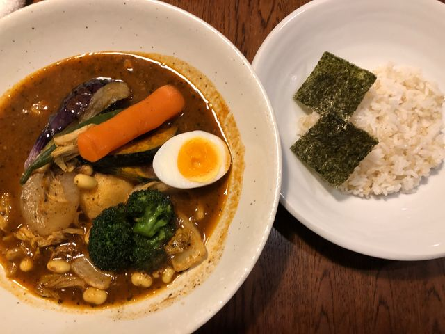濃厚なスープ_札幌らっきょ 琴似店