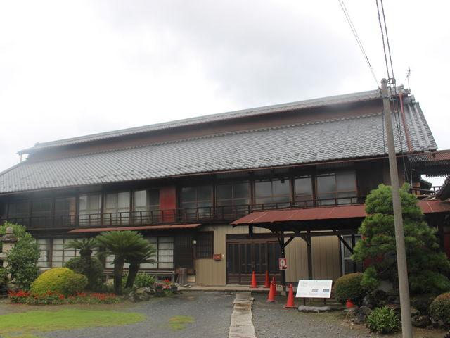 外から見るだけでした。_田島弥平旧宅